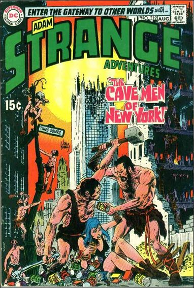 Strange Adventures (1950) 219-A by DC