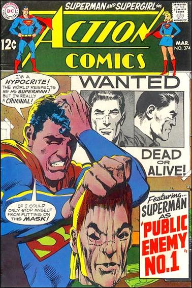 Action Comics (1938) 374-A by DC