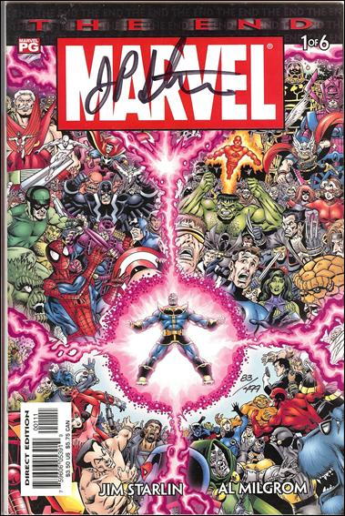 Marvel Universe: The End 1-B by Marvel