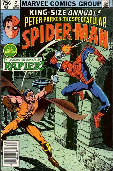 Spectacular Spider-Man Annual 2-A by Marvel
