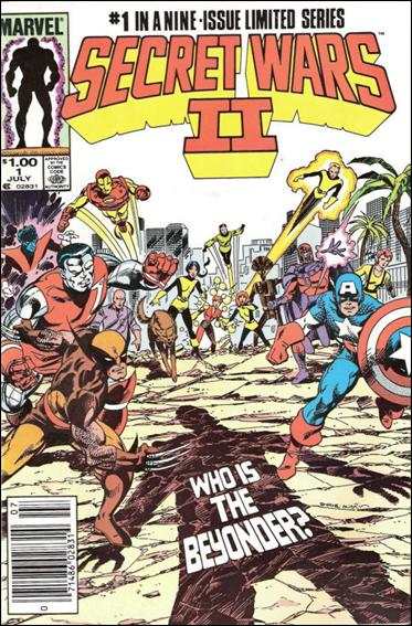 Secret Wars II 1-B by Marvel