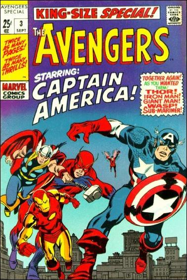 Avengers Annual 3-A by Marvel