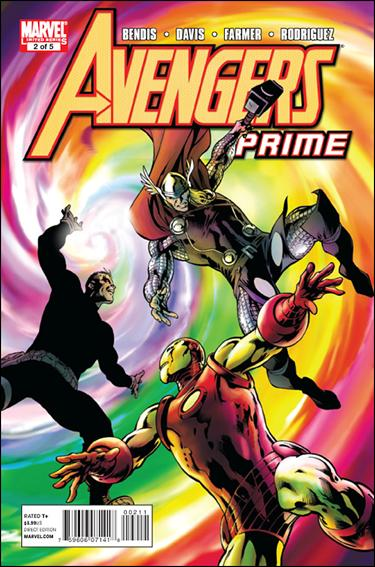 Avengers Prime 2-A by Marvel