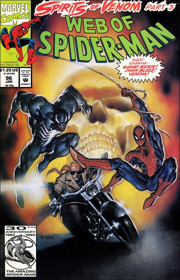 Web of Spider-Man (1985) 96-A by Marvel