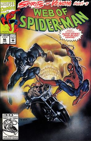 Web of Spider-Man (1985) 96-A