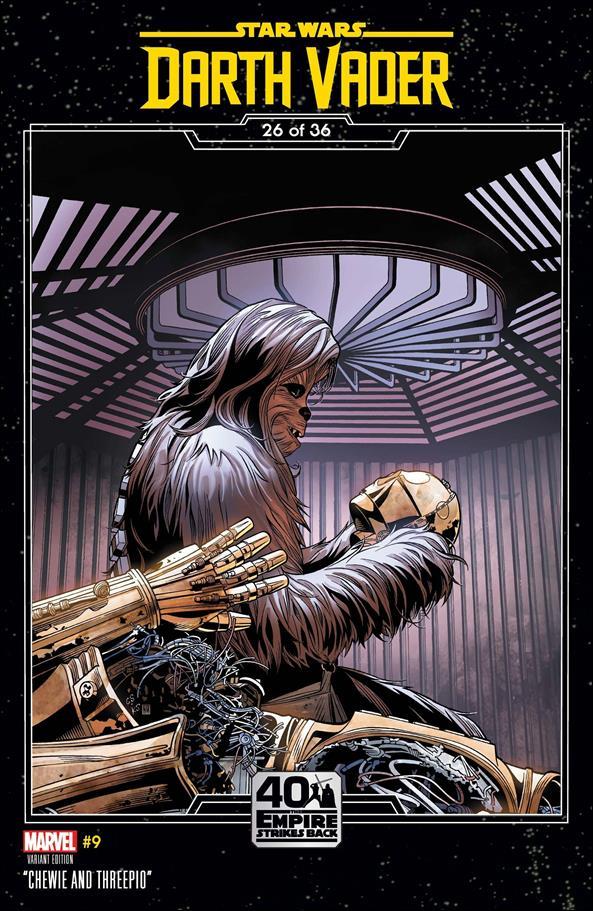Star Wars: Darth Vader 9-B by Marvel