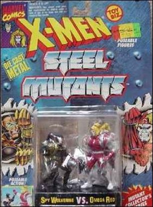 X-Men Steel Mutants (2-Packs) Spy Wolverine vs Omega Red