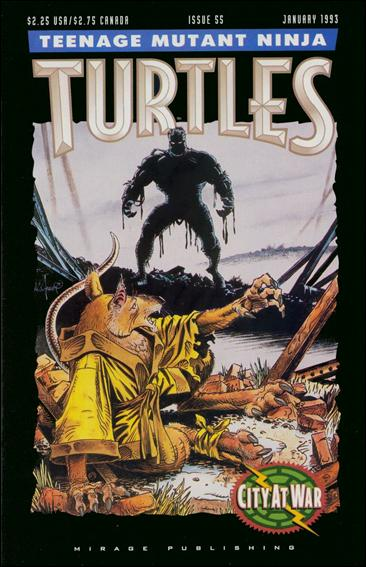 Teenage Mutant Ninja Turtles (1984) 55-A by Mirage