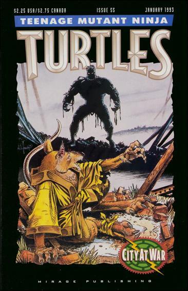 Teenage Mutant Ninja Turtles (1984) 55-A by Mirage