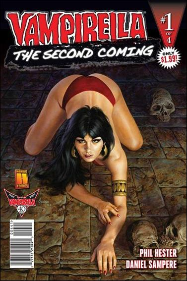 Vampirella: Second Coming 1-D by Harris