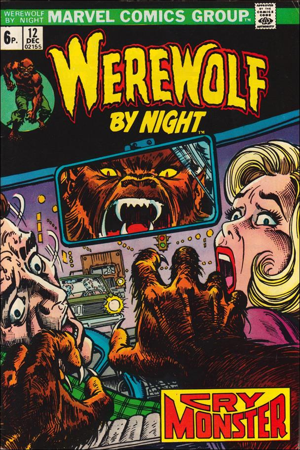 Werewolf by Night (1972) 12-B by Marvel
