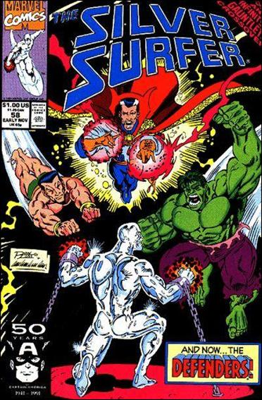 Silver Surfer (1987) 58-A by Marvel