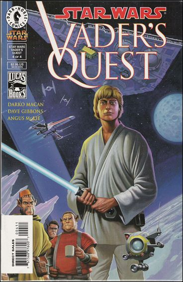 Star Wars: Vader's Quest 4-A by Dark Horse