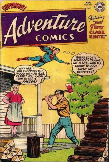 Adventure Comics (1938) 191-A by DC