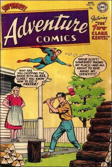 Adventure Comics (1938) 191-A by DC