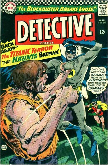 Detective Comics (1937) 349-A by DC