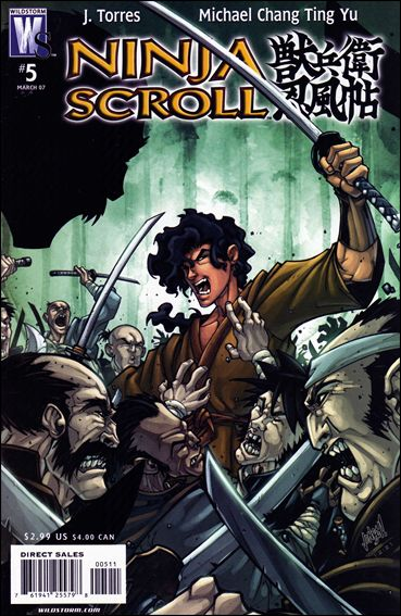 Ninja Scroll 5-A by WildStorm