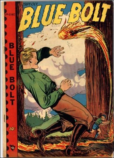 Blue Bolt (1949) 2-A by Premium