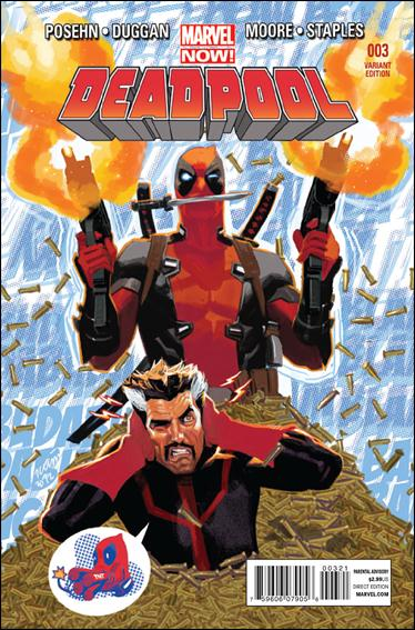 Deadpool (2013) 3-B by Marvel