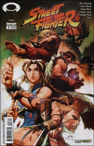 Street Fighter (2003) 3-A by Udon