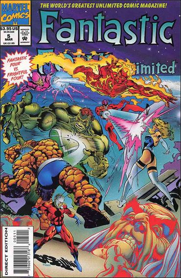 Fantastic Four Unlimited 5-A by Marvel