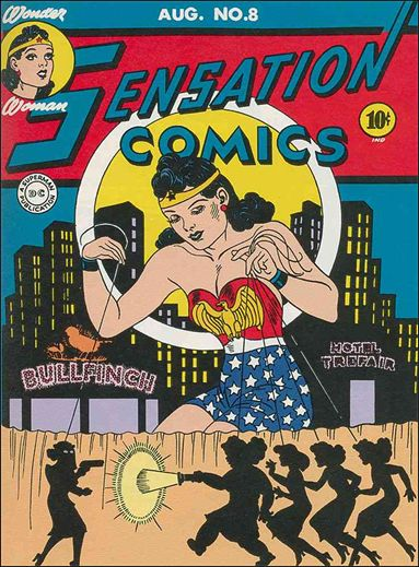 Sensation Comics (1942) 8-A by DC