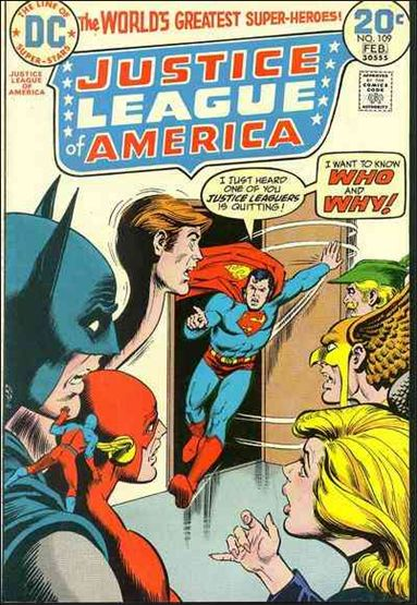 Justice League of America (1960) 109-A by DC