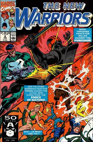 New Warriors (1990) 8-A