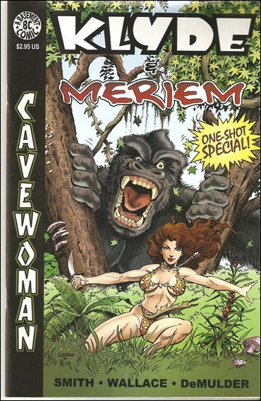 Cavewoman: Klyde & Meriem 1-A by Basement Studios