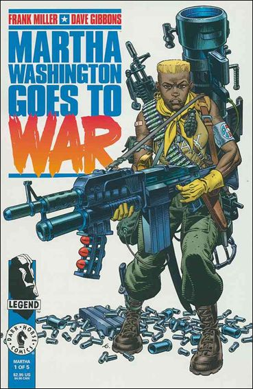 Martha Washington Goes to War 1-A by Dark Horse