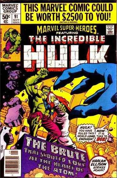 Marvel Super-Heroes (1967) 91-A by Marvel