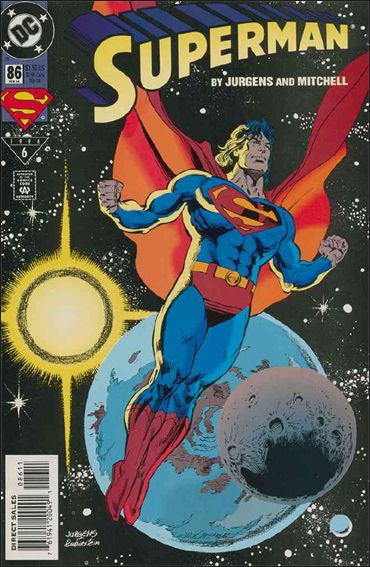Superman (1987) 86-A by DC