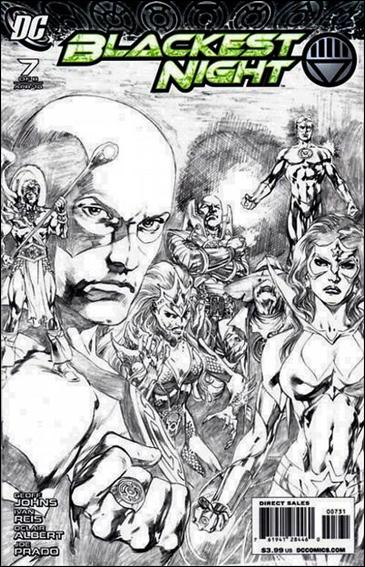 Blackest Night 7-C by DC