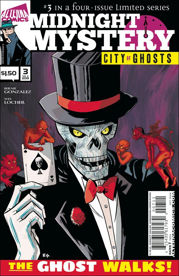 Midnight Mystery: City of Ghosts 3-A by Alterna Comics
