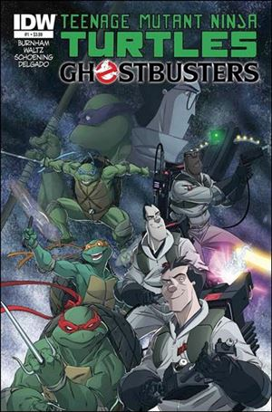 Teenage Mutant Ninja Turtles / Ghostbusters 1-A