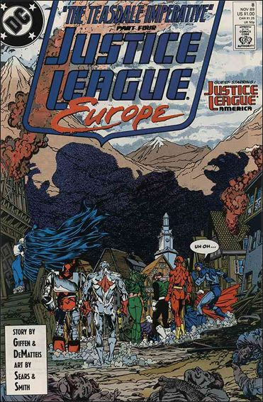 Justice League Europe 8-A by DC