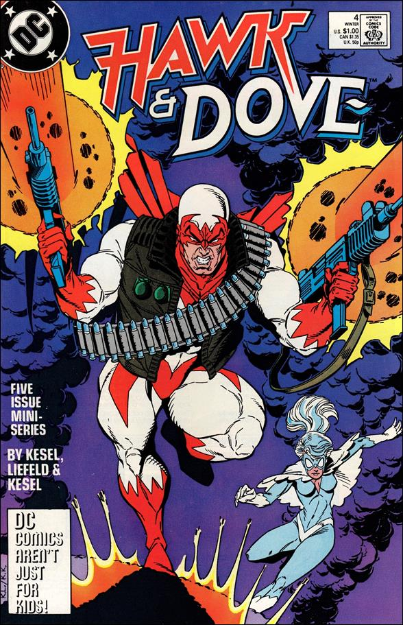 Hawk and Dove (1988) 4-A by DC