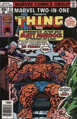 Marvel Two-in-One (1974) 37-A
