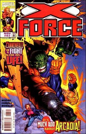 X-Force (1991) 83-A