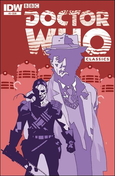 Doctor Who Classics Series V 3-A by IDW