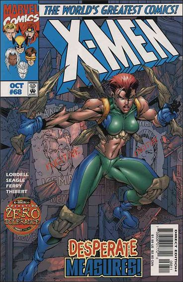 X-Men (1991) 68-A by Marvel