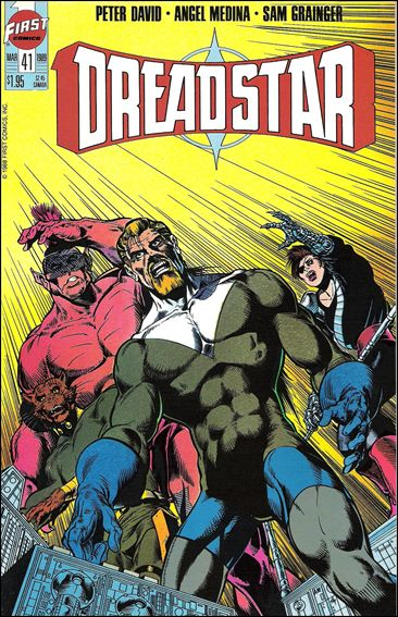 Dreadstar (1982) 41-A by Epic