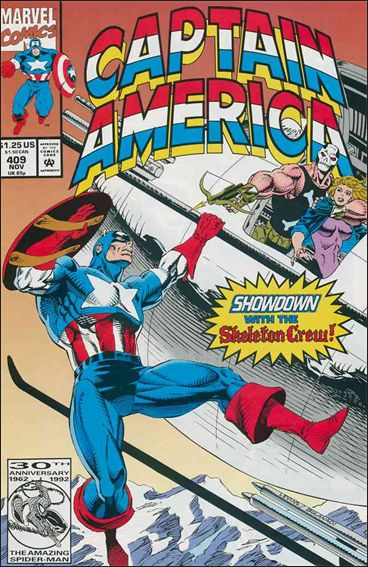 Captain America (1968) 409-A by Marvel