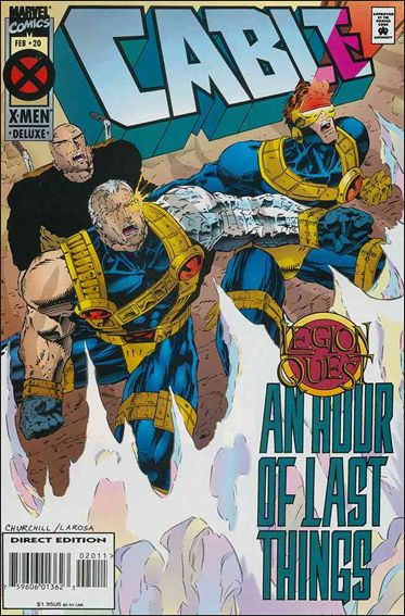 Cable (1993) 20-A by Marvel