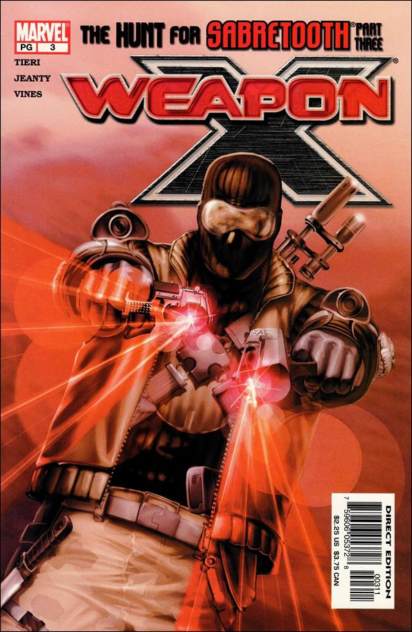 Weapon X (2002) 3-A by Marvel