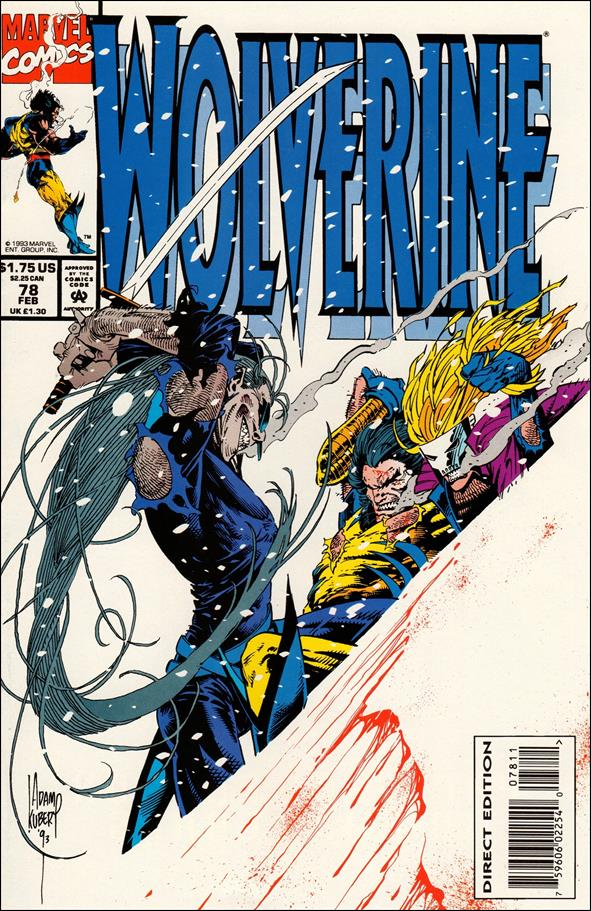 Wolverine (1988)  78-A by Marvel