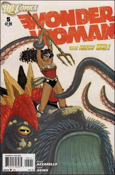 Wonder Woman (2011) 5-A by DC