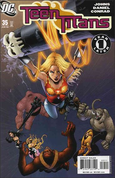 Teen Titans (2003) 35-A by DC