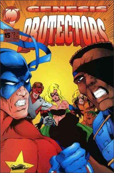 Protectors (1992) 15-A by Malibu