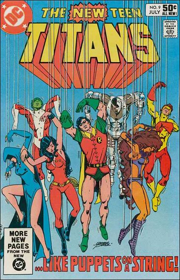 New Teen Titans (1980) 9-A by DC